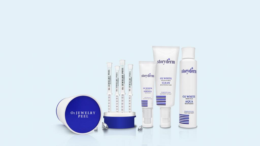 Storyderm O2 White Skincare Products