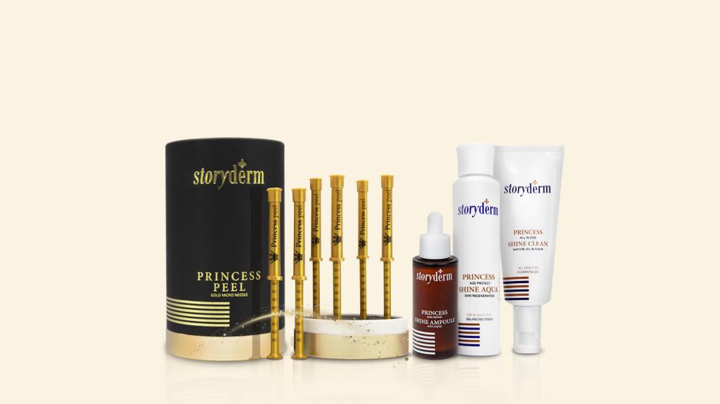 Storyderm Princess Shine Skincare Products