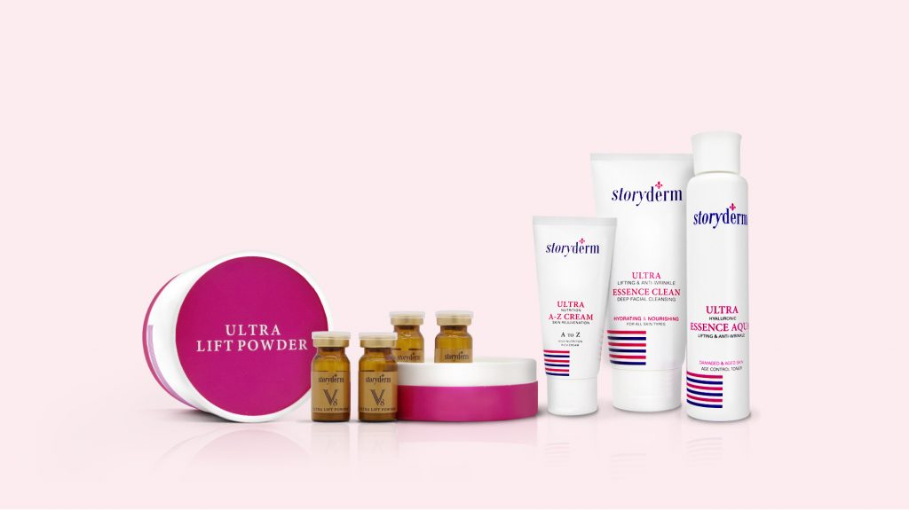 Storyderm Ultra Lift Skincare Products
